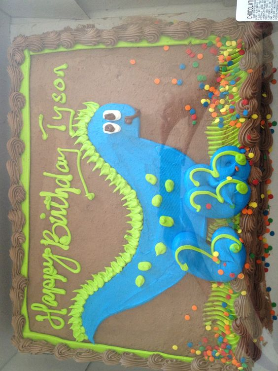 Dino cake from Costco | Dinosaur Party | Pinterest | Dino ...