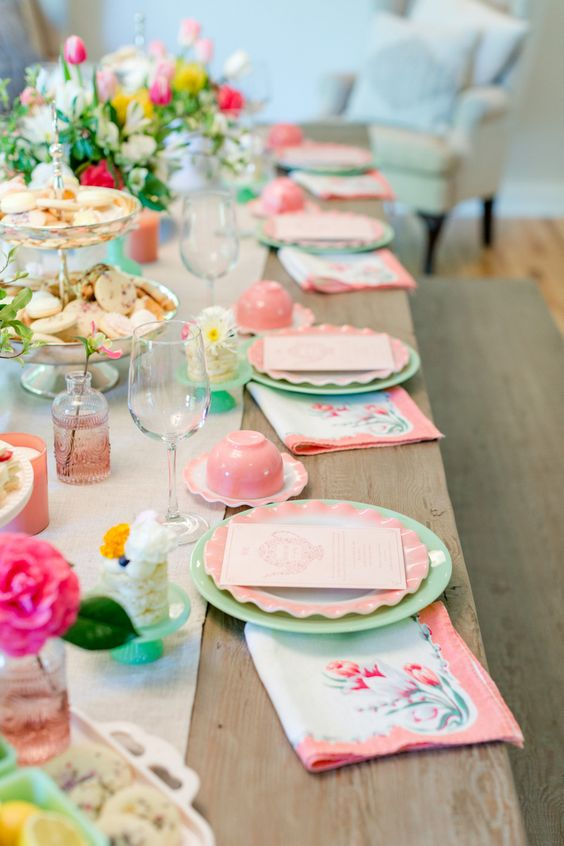 How to Host a Ladies Tea Party – Jenny Cookies