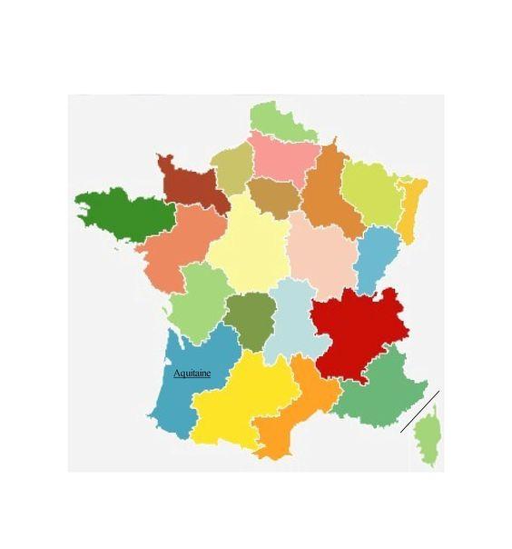 France région Aquitaine.