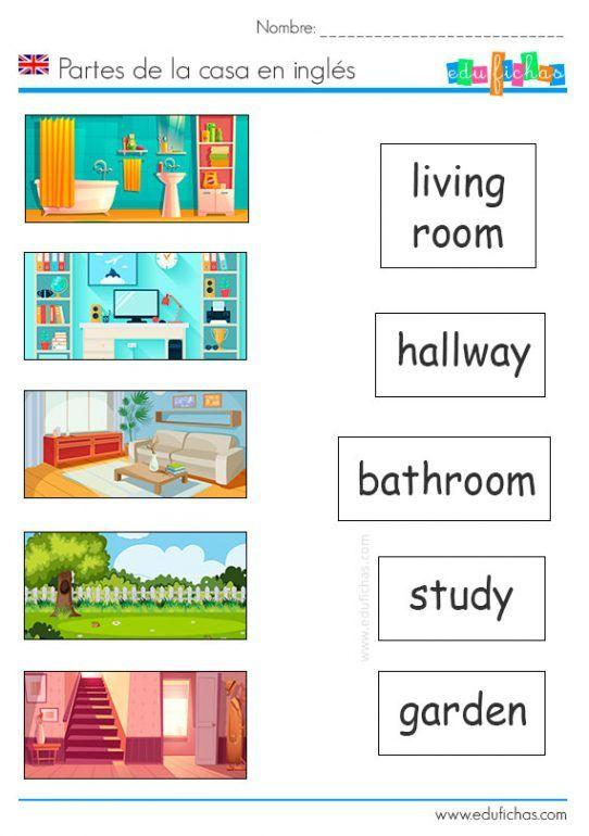 Partes De La Casa En Ingles Casa En Ingles Partes De La Casa