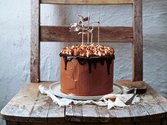 Chokladtårta.