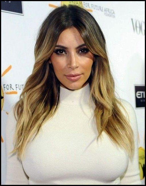 23 Kim Kardashian Frisuren Bob Frisuren Kim Kardashian Frisuren Frisuren Lange Haare Mittelscheitel Kardashian