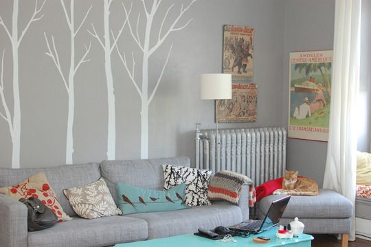Loving grey and teal