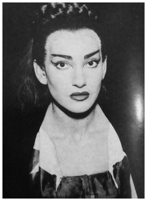 Maria Callas as Medea. A Greek play for a Greek Beauty.