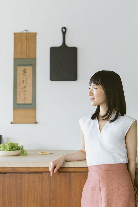 EXCLUSIVE: The 4 Simple Questions Marie Kondo Asks of Every Item in her Closet #purewow #organizing #cleaning #home