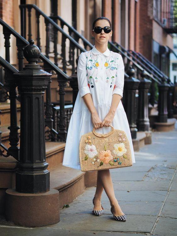 25 robes brodées pour style boho-chic qui fleure bon le printemps - Les Éclaireuses
