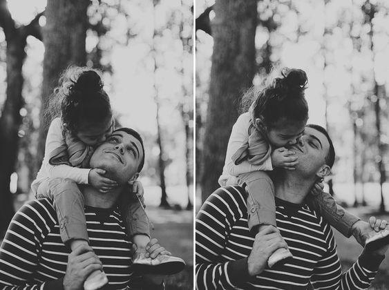 Seleção de imagens demonstram o amor que pais sentem por suas filhas: