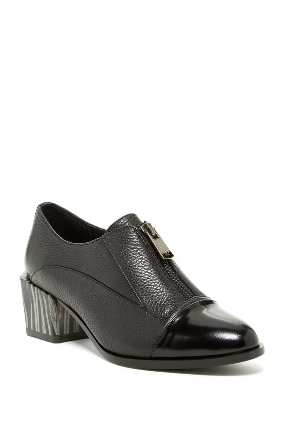 Mason Leather Ankle Bootie by H Williams on @HauteLook