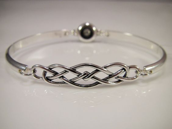 Sterling Silver Discreet Slave Bracelet / Locking Cuff w/ Celtic Knot & Allen Key Clasp - Sized to Order by SkyeWireDesigns on Etsy https://www.etsy.com/listing/249456128/sterling-silver-discreet-slave-bracelet: