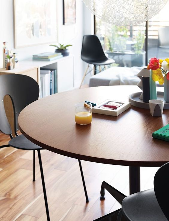 eames® round segmented table | rounding, tables and modern table, Attraktive mobel