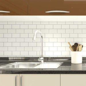 Ezfauxdecor Self Adhesive Decorative Peel And Stick Countertop Marble Not Contact Paper Or Paint In 2021 Diy Kitchen Renovation Tile Backsplash Kitchen Backsplash