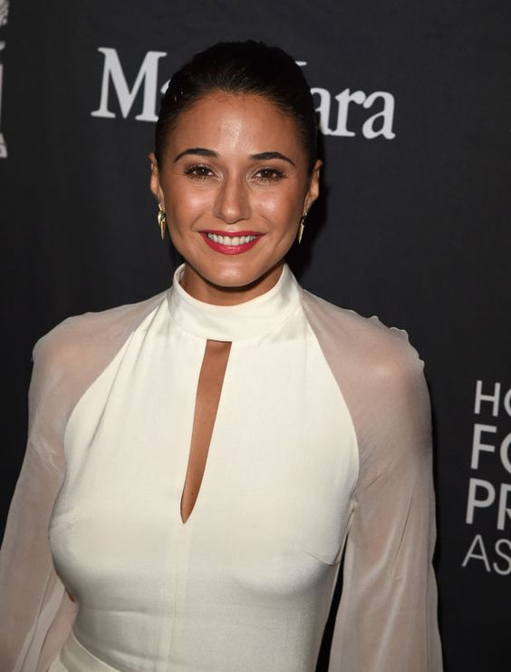 Emmanuelle Chriqui at the 2015 InStyle and Hollywood Foreign Press Association party in Toronto. http://beautyeditor.ca/2015/09/22/tiff-2015