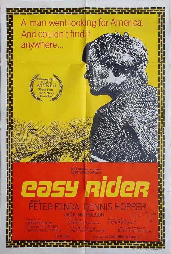 Easy Rider Easy Rider Rider Advertising Material