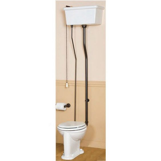 Pull Chain Toilet Sunrise Specialty Victorian Pull Chain Toilet With Porcelain Tank