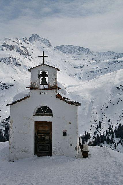 Chapel St. Anna, Frunt, Canton of Valais, Switzerland