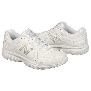 New Balance White Running Shoes