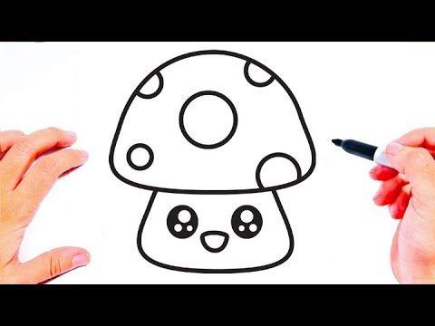 رسم سهل طريقة رسم الفطر للاطفال تعليم الرسم للاطفال رسومات بالرصاص تعلم الرسم رسومات سهله Youtube Hello Kitty Kitty Art