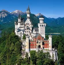 Mad Ludwig's castle, Bavaria