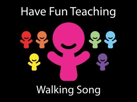 Walking Song by Have Fun Teaching. This is a fitness song thats a great brain break activity. Get those kids up and moving and get those brains WORKING!!! I really do love so many things on this site, and my kids always have a blast!