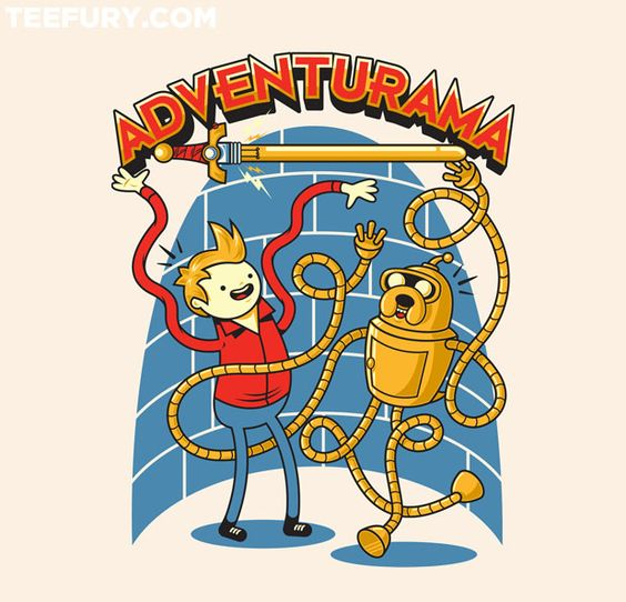 It's Adventur-ama Time