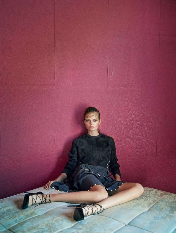 black new graphics: marthe wiggers by marcin tyszka for marie claire italia november 2015 | visual optimism; fashion editorials, shows, campaigns & more!