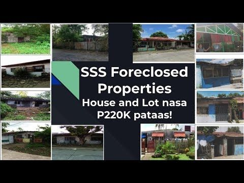 List Of Sss Foreclosed House And Lot For Sale Starting From P220k Youtube Foreclose Foreclosed Homes Lots For Sale