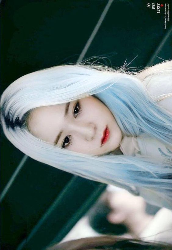 Krystal love hair color: