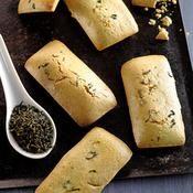 Financiers au thé vert - une recette Gâteau - Cuisine