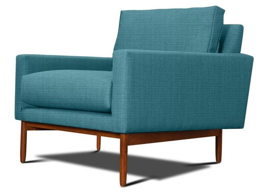 Sofa Pillows Some mid century magic from Thrive furniture I love the lines still deciding on the color House Things Pinterest Mid century