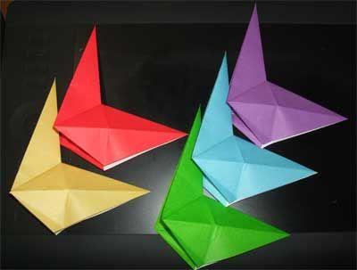 クリスマス 折り紙 折り紙 ちょうちょ 立体 : jp.pinterest.com