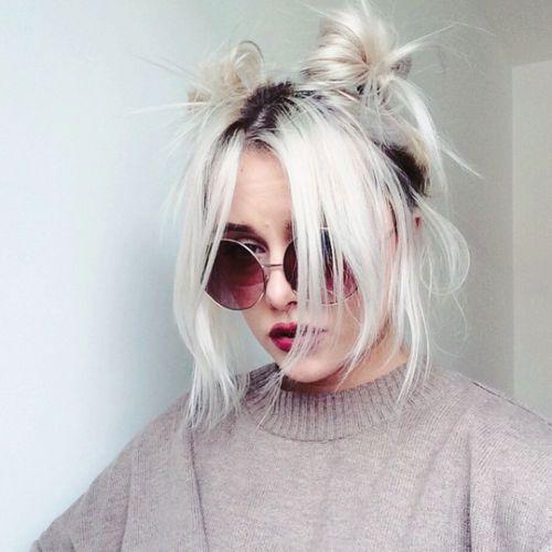 Asche, Blondinen and Haar on Pinterest