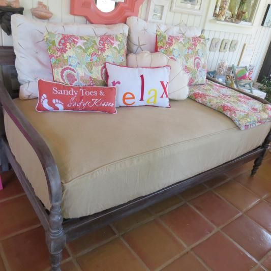 indonesian daybed frame mattress covers porches and