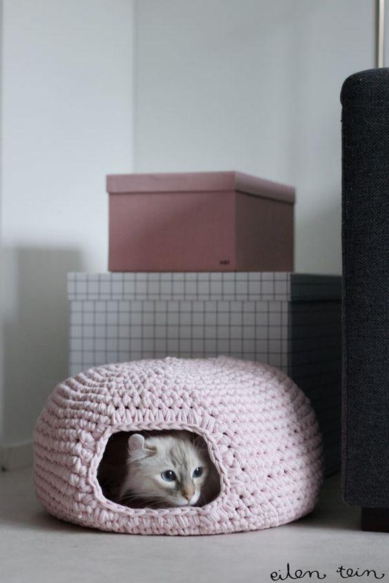 panier-chat-trapilho et autres tuto