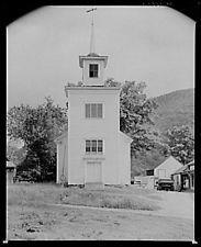 Photo:The church at Sherburne,New Hampshire