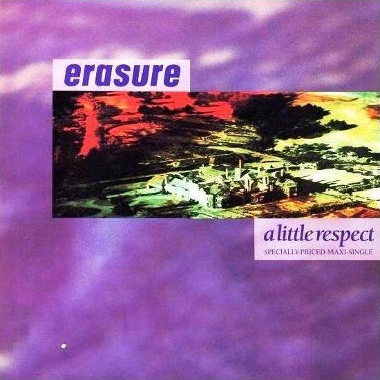 Erasure – A Little Respect (single cover art)