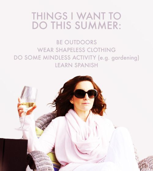 Liz Lemon and I are the same (except I want to learn more Chinese instead of Spanish)