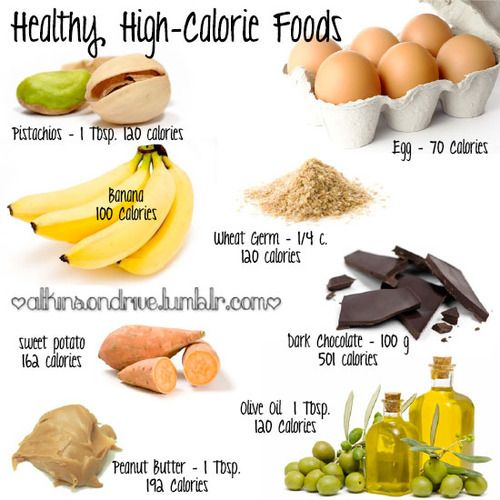 high calories food