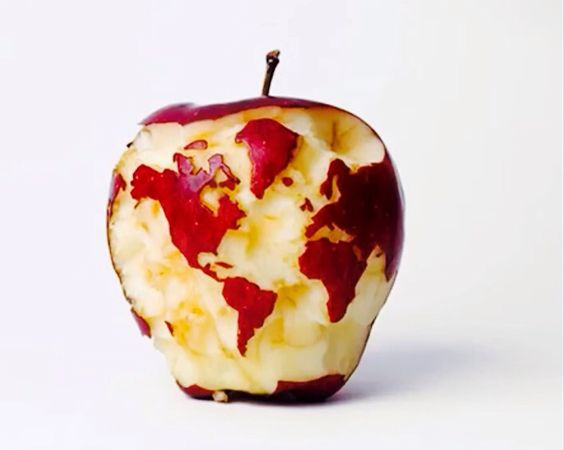 The Big Apple ( From a World View)