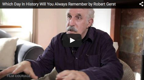 Which Day In #History Will You Always Remember by Prof. Robert Gerst of #MassachusettsCollegeof ArtandDesign via http://filmcourage.com  For more videos, please visit https://www.youtube.com/user/filmcourage   #filmandtelevision #entertainmentindustry #film #filmmakingtips #indiefilm #historian #historical #massart