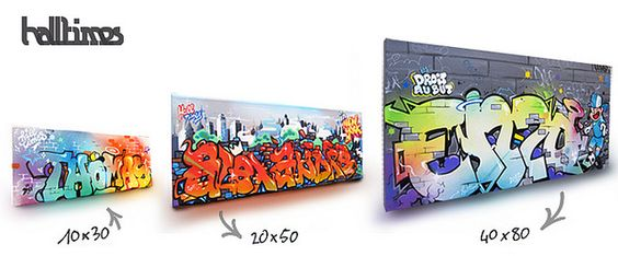 HALLTIMES réalise ton tableau graffiti !  by Julien AVIGNON - HALLTIMES Activités Graphiques, via Flickr