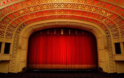 what is a proscenium stage