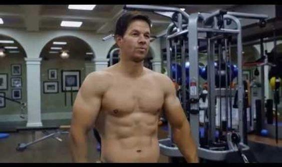 Mark Wahlberg and Dwayne Johnson Training