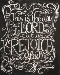 Free printable, Psalm 118:24 | gracelaced.com