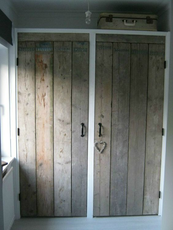 Fitted wardrobes wardrobes and closet doors on pinterest - Wooden sliding closet doors for bedrooms ...