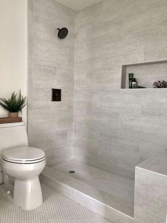 12 Wonderful Bathroom Shower Tile Ideas That Will Enhance Your Bathroom Decorits Master Bathroom Shower Bathroom Remodel Shower Small Bathroom