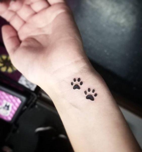 Animal Lover Tiny Tattoo