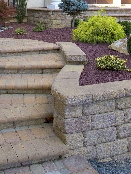 Landscaping Stone Fredericksburg Va : Stairs steps stairways garden landscape stair ideas