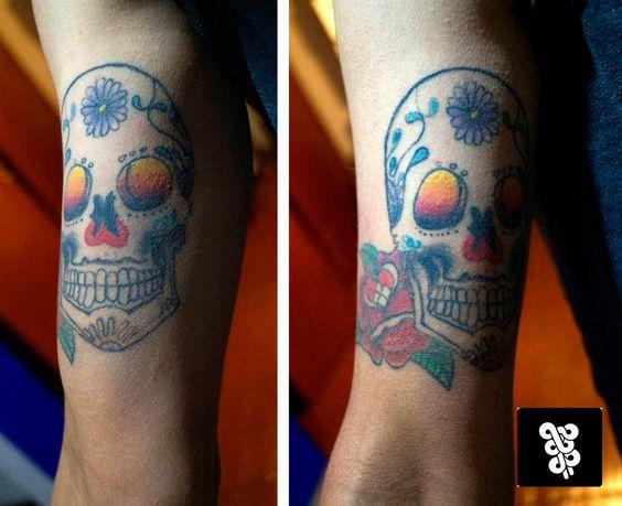 tatto calavera de azúcar citas y cotizaciones  whatsapp: 553273-6277  inbox: huascop