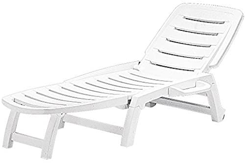 Amazing Offer On Folding Three Position Reclining Patio Lounge Chair Sun Lounger White S6805b Online Seetopstar In 2020 Patio Lounge Patio Lounge Chairs Sun Lounger