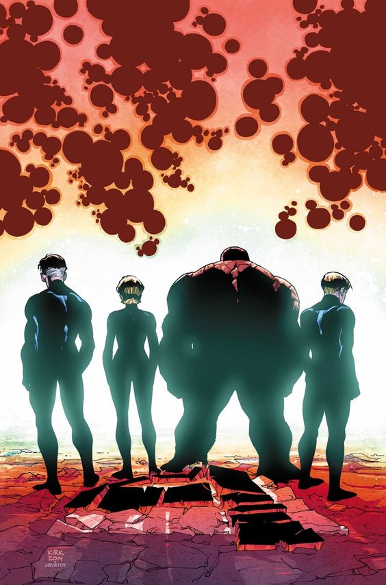 The Fantastic Four •Leonard Kirk